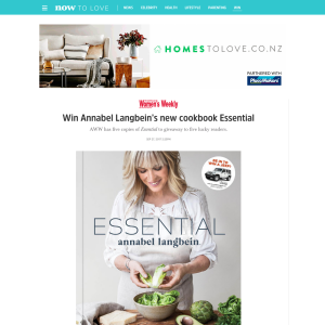 Win Annabel Langbein's new cookbook Essential