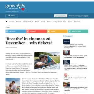 Win 'Breathe' tickets