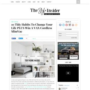 Win Cordless SlimVac Handstick Vacuum cleaner
