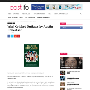 Win Cricket Outlaws by Austin Robertson