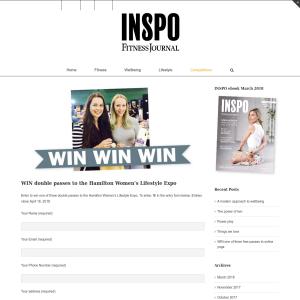 Win double passes to the Hamilton Women's Lifestyle Expo