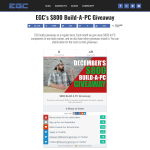 Win EGC's $800 Build-A-PC Giveaway