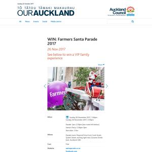 Win Farmers Santa Parade 2017