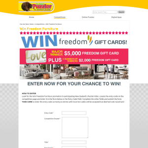Win Freedom Furniture