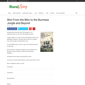Win! From the Blitz to the Burmese Jungle and Beyond