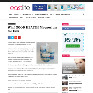 Win Good Health Magnesium for kids
