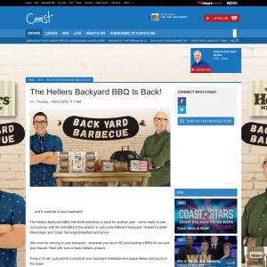 Win Hellers Backyard BBQ with Brett and Brian experience