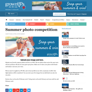 Win in the Summer photo competition