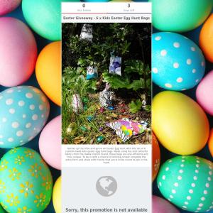 Win Kids Easter Egg Hunt Bags