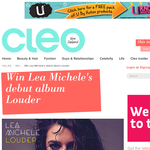 Win Lea Michele's debut album Louder