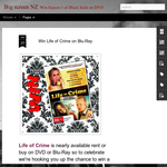 Win Life of Crime on Blu-Ray