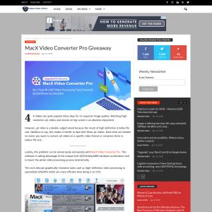 Win MacX Video Converter Pro Licenses
