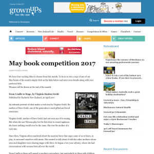 Win May book competition 2017