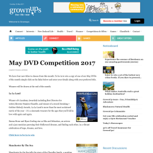 Win May DVD Competition 2017