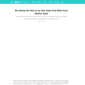 Win Mother Earth prize packs