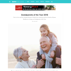 Win prizes for Grandparents of the Year 2018