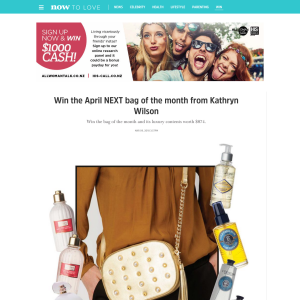 Win the April NEXT bag of the month from Kathryn Wilson