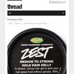 Win the latest LUSH Fresh Handmade Cosmetics!
