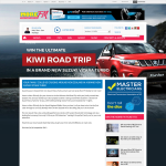Win the Ultimate Kiwi Road Trip with your family around New Zealand