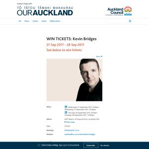 WIN TICKETS: Kevin Bridges