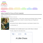 Win Tickets to A Little Chaos