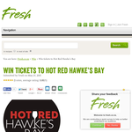 Win Tickets to Hot Red Hawke's Bay