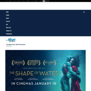 Win tickets to Magic's Must See Movie: Shape of Water