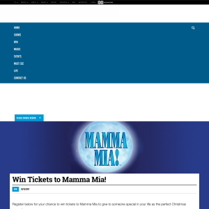 Win Tickets to Mamma Mia