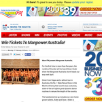 Win Tickets To Manpower Australia!