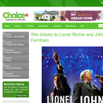 Win tickets to see Lionel Richie and John Farnham Live!