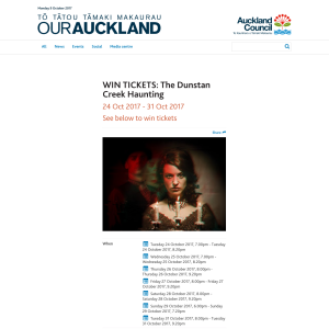 Win Tickets to the The Dunstan Creek Haunting