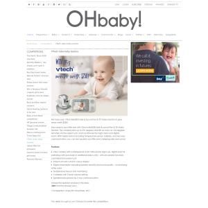 Win VTech video baby monitor