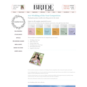 Win Wedding of the Year Competition