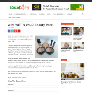 Win WET N WILD Beauty Pack