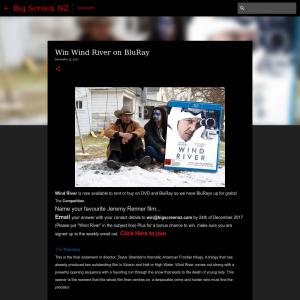Win Wind River on BluRay