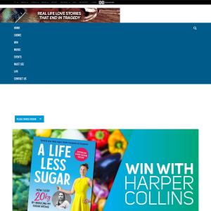Win with Harper Collins - A Life Less Sugar