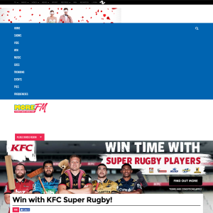 Win with KFC Super Rugby