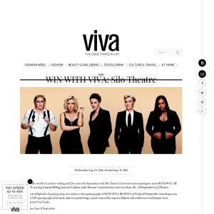 Win with VIVA: Silo Theatre