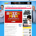 Win your More FM Ticket to The Brick Man experience